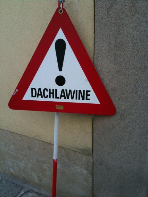Dachlawine