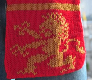Harrypotterscarf detail